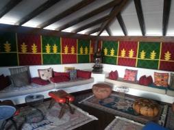 Bedouin style bar in H10 Suites.