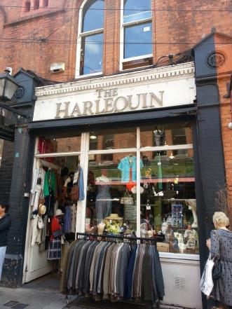 The Harlequin vintage boutique, Castle Market