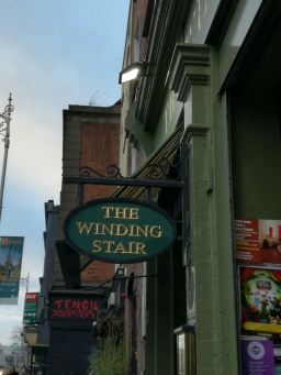 The Winding Stair, a Dublin Institution