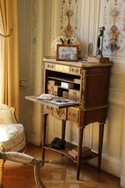 Marie Antoinette's desk, complete with secret compartment