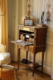 Marie Antoinette's desk, complete with secret compartment