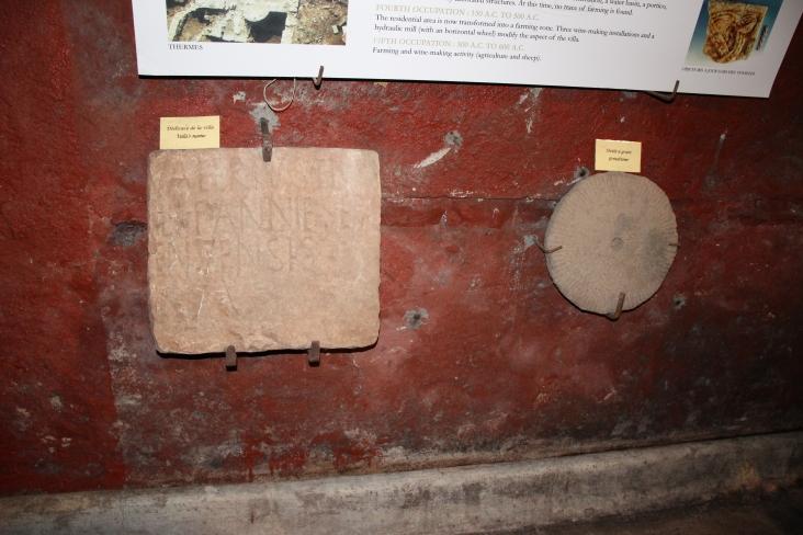 Ancient Roman artefacts