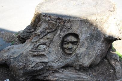 Tree sculpture, Andrea Gandini